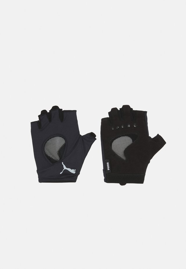 GYM GLOVES - Mitaines - black/gray violet