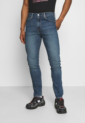 510™ SKINNY - Jeans slim fit - dark indigo - flat finish