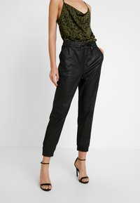 ZIGGY Denim - CRUISER PANT - Relaxed fit jeans - black lacquer - 0