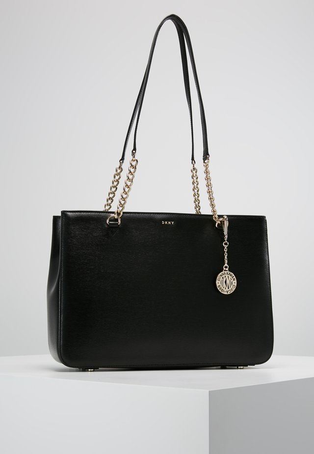 BRYANT SHOP TOTE SUTTON - Handväska - black/gold