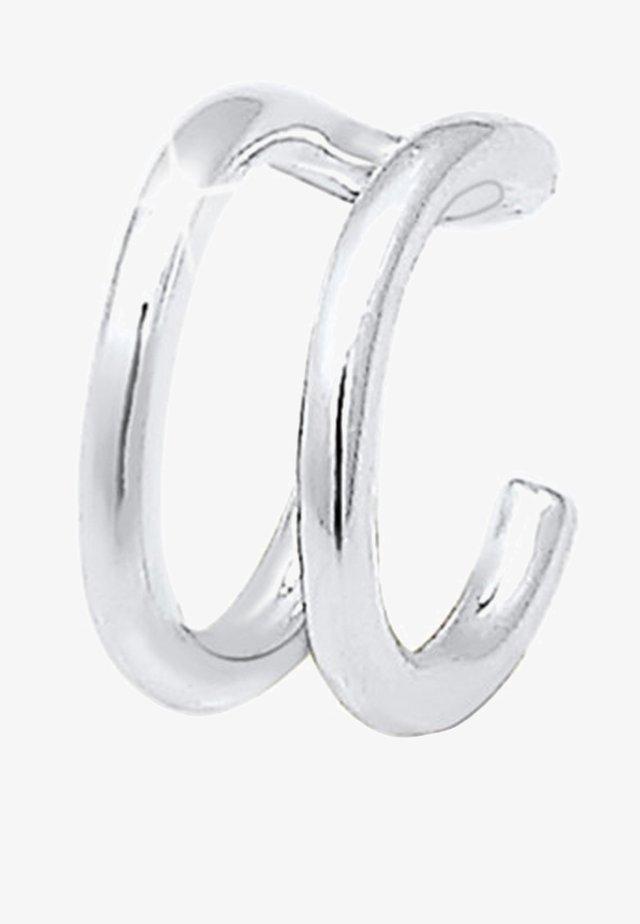 SINGLE EARCUFF  - Orecchini - silver-coloured