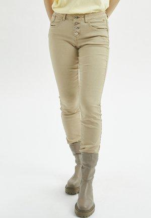CRLOTTE  - Slim fit jeans - beige