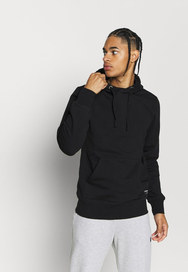CENTRE HOOD - Hoodie - black beauty