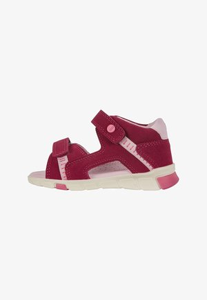 MINI STRIDE  - Walking sandals - red plum