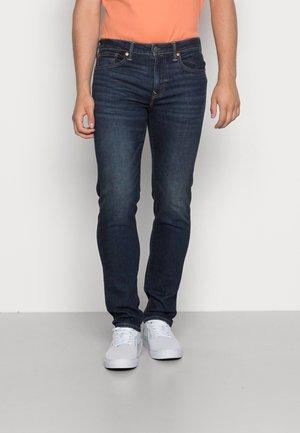 SLIM STRAIGHT - Jeans slim fit - rustic blue