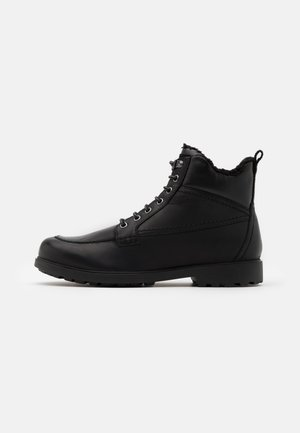 RHADALF - Lace-up ankle boots - black