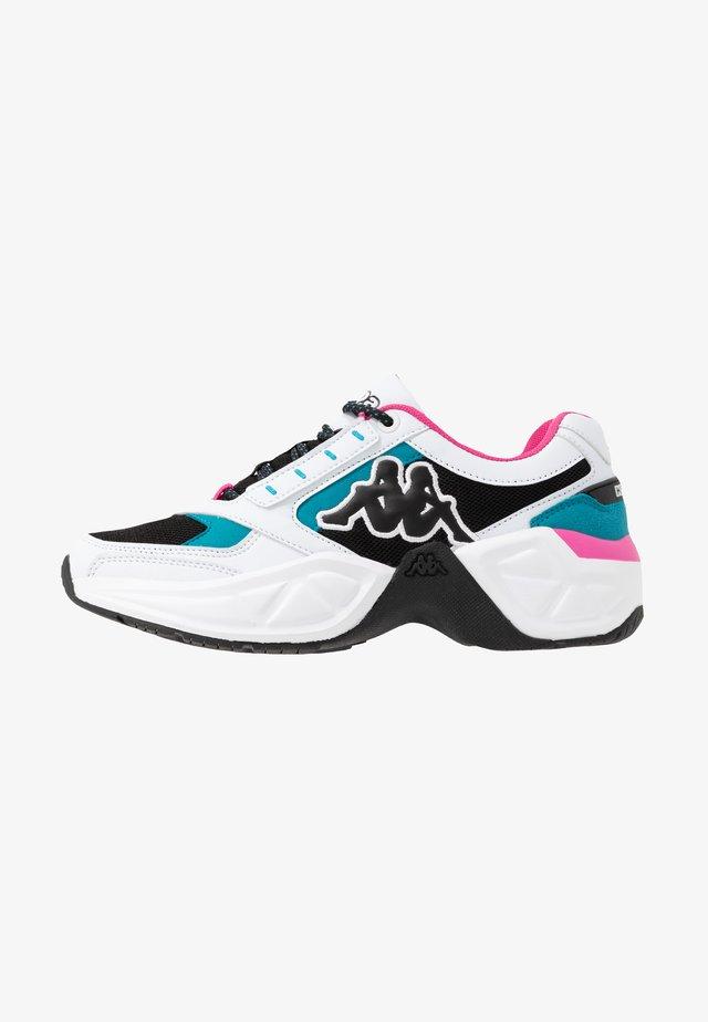 KRYPTON - Chaussures d'entraînement et de fitness - white/petrol