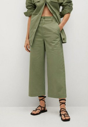 Trousers - kaki