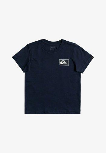 OFF THE GROUND - Print T-shirt - navy blazer