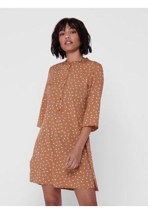 Blusenkleid - brown