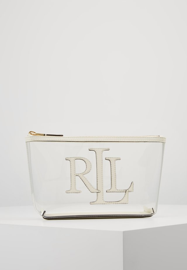 CLEAR - Wash bag - clear/vanilla
