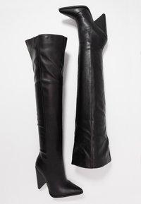 RAID - PLEXI - Laarzen met hoge hak - black - 3