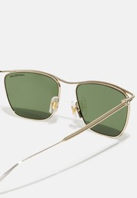 Mont Blanc - UNISEX - Sunglasses - gold-coloured/green - 3