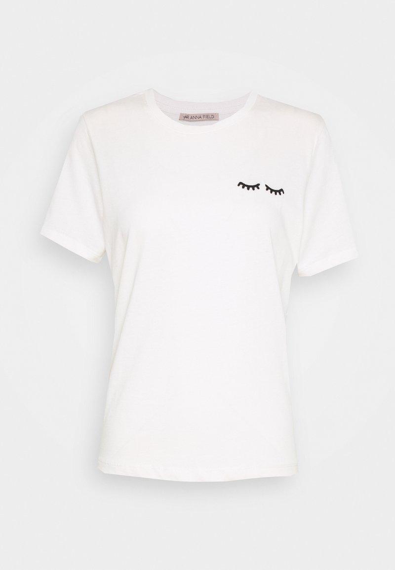 Anna Field - Basic T-shirt - white