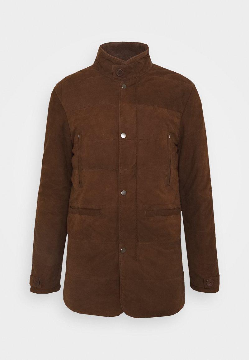 Serge Pariente - FIRENZA - Leather jacket - tobacco