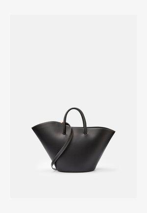 OPEN TULIP TOTE MEDIUM - Tote bag - black