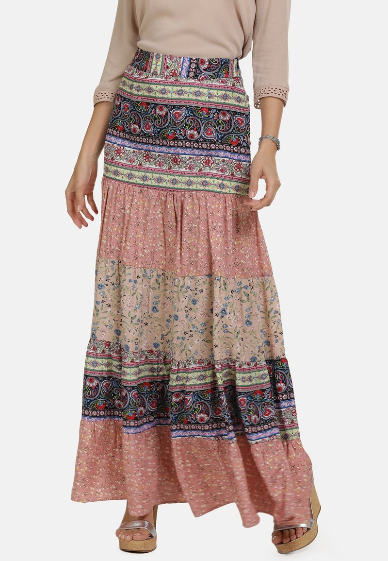 usha - Maxi skirt - multi-colour