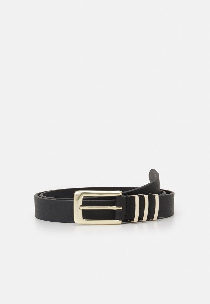Zign - Belt - black/gold-coloured