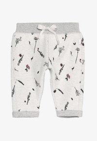 Noppies - PANTS REGULAR CALEDONIA BABY - Pantalones deportivos - grey melange - 2