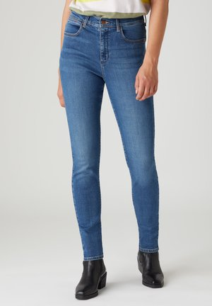 HIGH RISE - Jeans Skinny Fit - sand storm