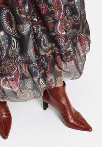 Samoon - MIT PAISLEY-PRINT - Day dress - black gemustert - 2