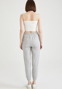 DeFacto - 2 PACK - Tracksuit bottoms - grey - 2