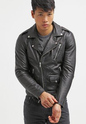 ROCKER  - Leren jas - black