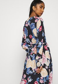 Vila - VIKITTIE DRESS - Day dress - black/blue/rose/beige - 3