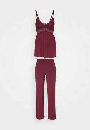 VERA LACE - Pyjama set - windsor wine