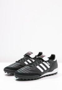 adidas Performance - MUNDIAL TEAM - Botas de fútbol multitacos - black/running red/white - 6