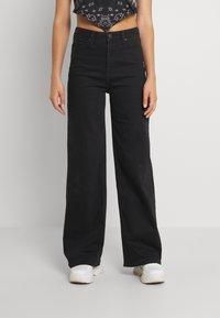 Lee - STELLA A LINE - Relaxed fit jeans - black parker - 0