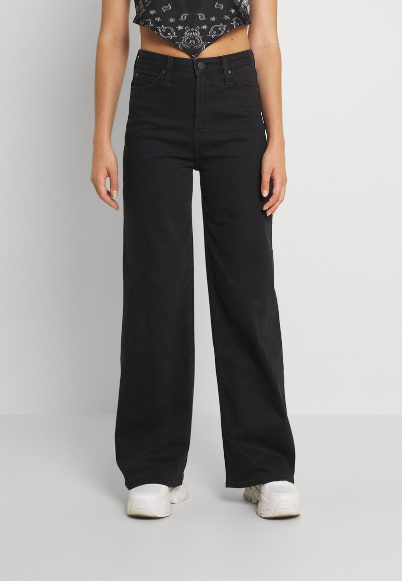 Lee - STELLA A LINE - Relaxed fit jeans - black parker