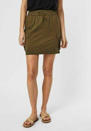 Minifalda - ivy green