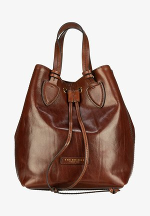 CATERINA  - Handbag - marrone/oro