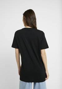 Merchcode - LADIES ONE LINE TEE - T-Shirt print - black