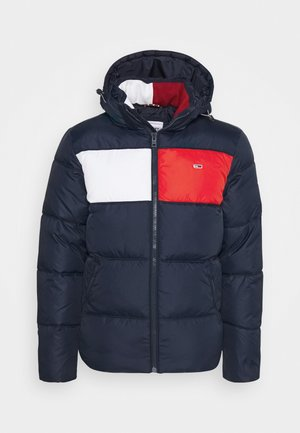 COLORBLOCK PADDED JACKET - Vinterjacka - twilight navy