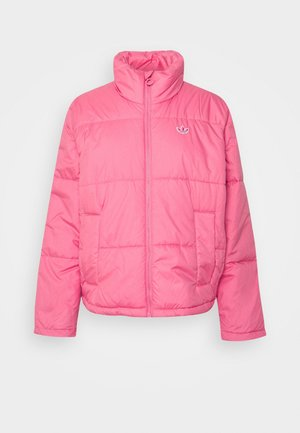 SHORT PUFFER MIDWEIGHT JACKET - Light jacket - rose tone