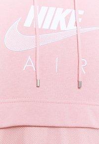 Nike Sportswear - AIR HOODIE - Hoodie - pink glaze/white - 6