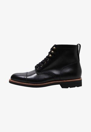 KENTON  CAP-TOE - Lace-up ankle boots - black