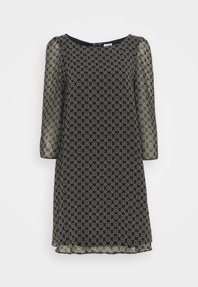 Claudie Pierlot - RIFIFIMEDAILLON - Shift dress - print fonce