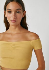 PULL&BEAR - Top - light yellow - 3