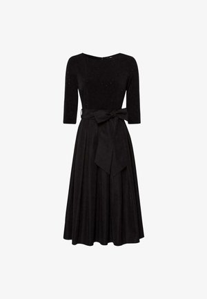 MIT GÜRTEL - Cocktail dress / Party dress - black
