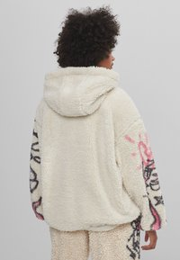 Bershka - MIT PRINT  - Fleece jacket - stone - 2