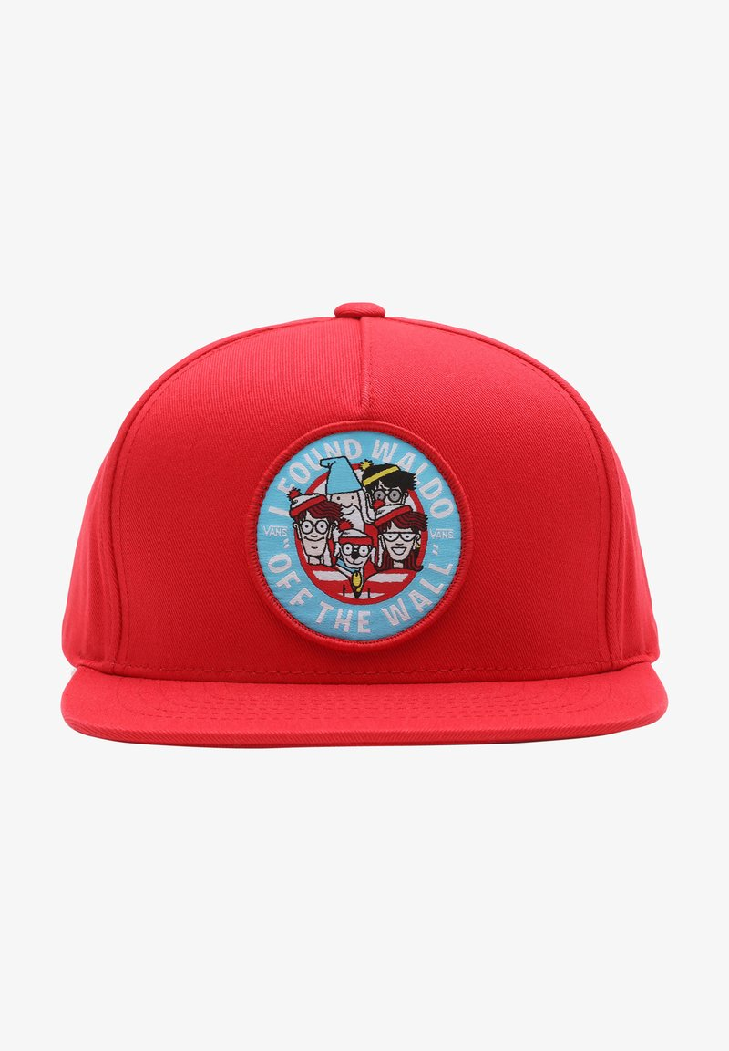 Vans - Cap - (where's waldo?)racingred