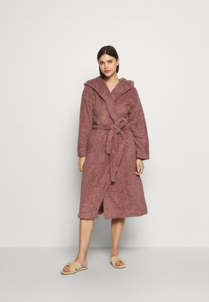 SHAGGY GOWN - Dressing gown - brown