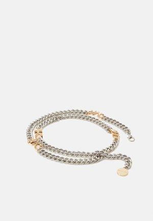 CHAIN BELT - Vyö - gold-coloured/silver-coloured