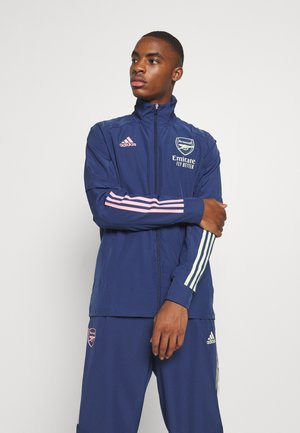 ARSENAL FC SPORTS FOOTBALL TRACKSUIT JACKET - Artykuły klubowe - blue