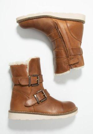 Kotníkové boty - mid brown