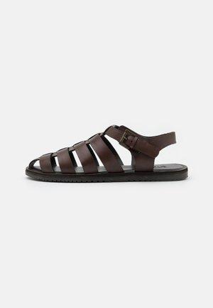 UNISEX - Sandals - brown