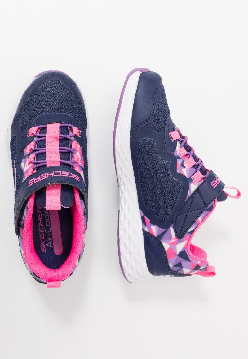 Skechers - TREAD LITE - Tenisky - navy/pink